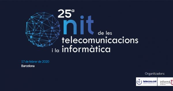 Baner La Nit de les Telecomunicacions i la Informática 2020